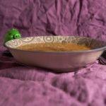Суп из палтуса и гороховой муки