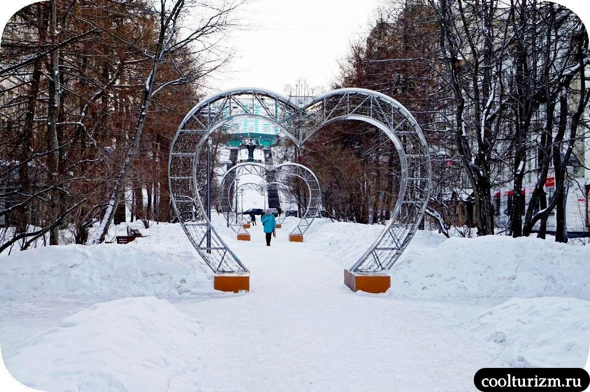 Музыкальная аллея Мурманск