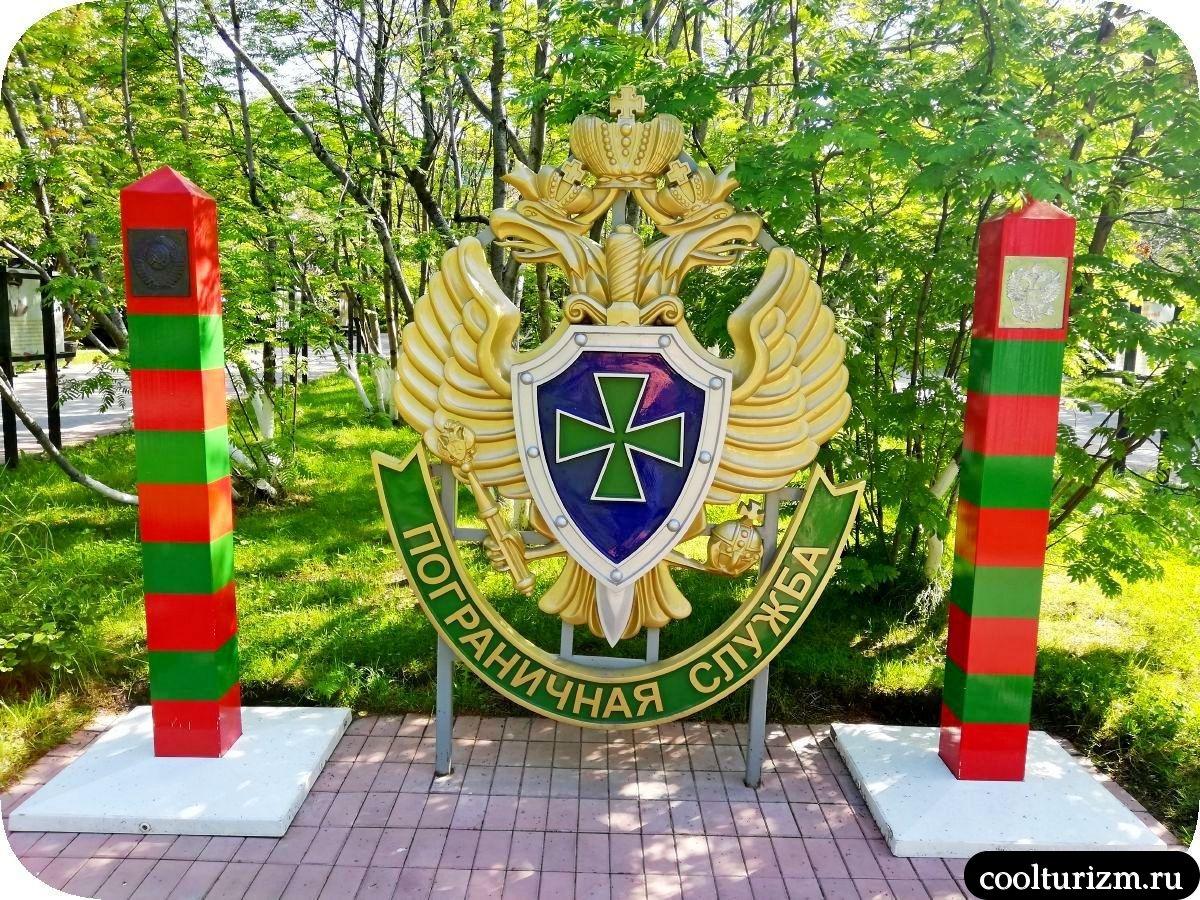пограничники у театра Мурманск