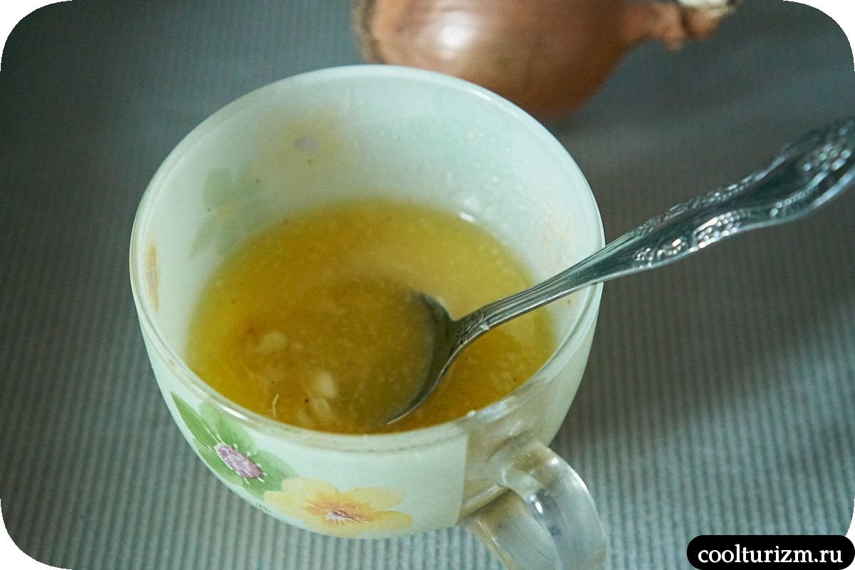 имбирное сливочное масло