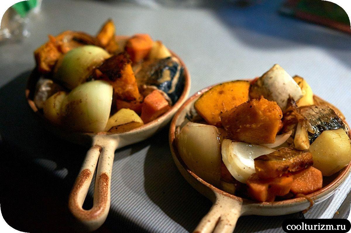 Рецепт скумбрии в духовке с овощами