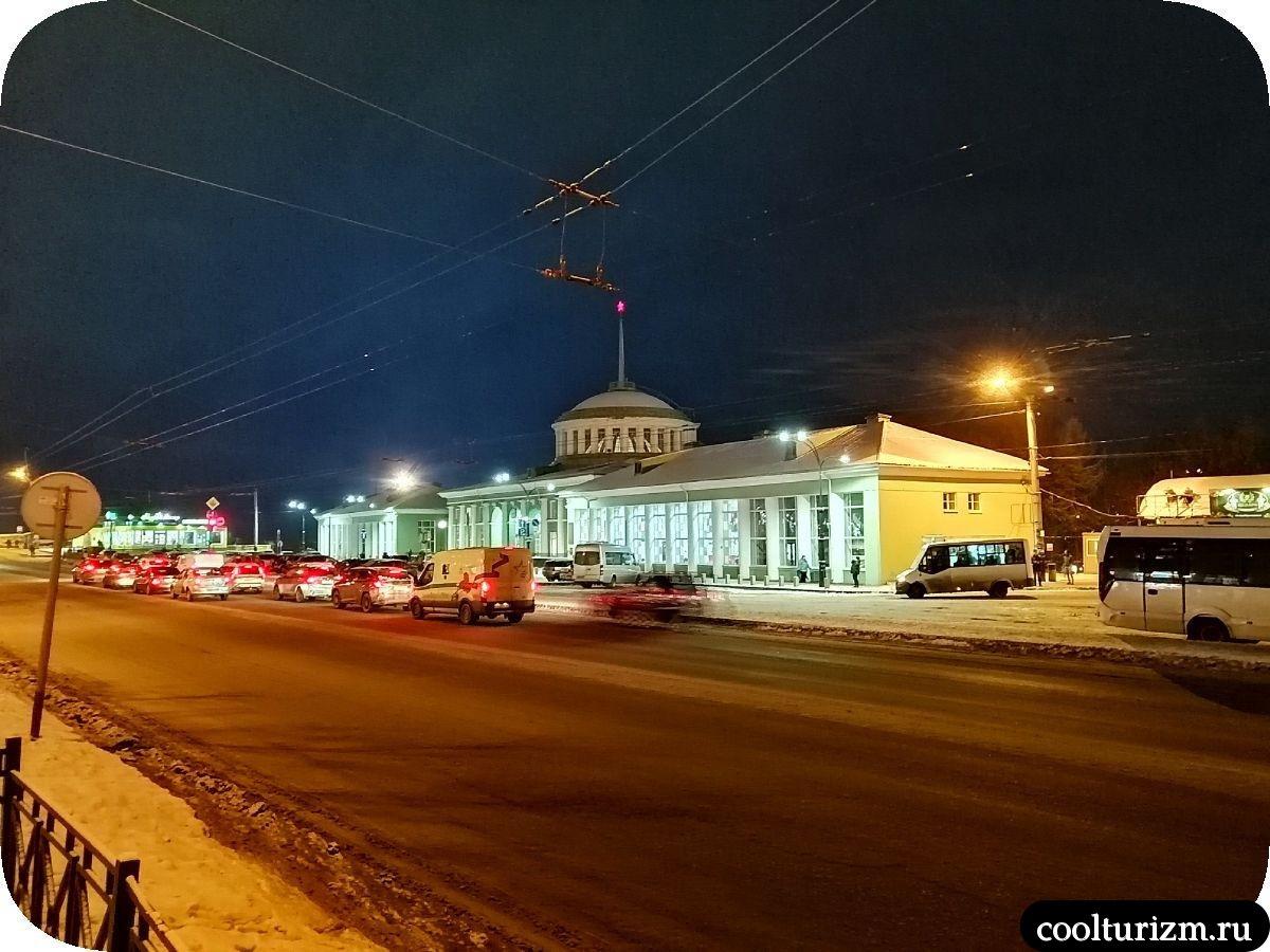 Железнодорожный вокзал Мурманск