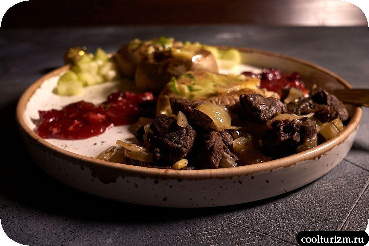 оленина блюда фото