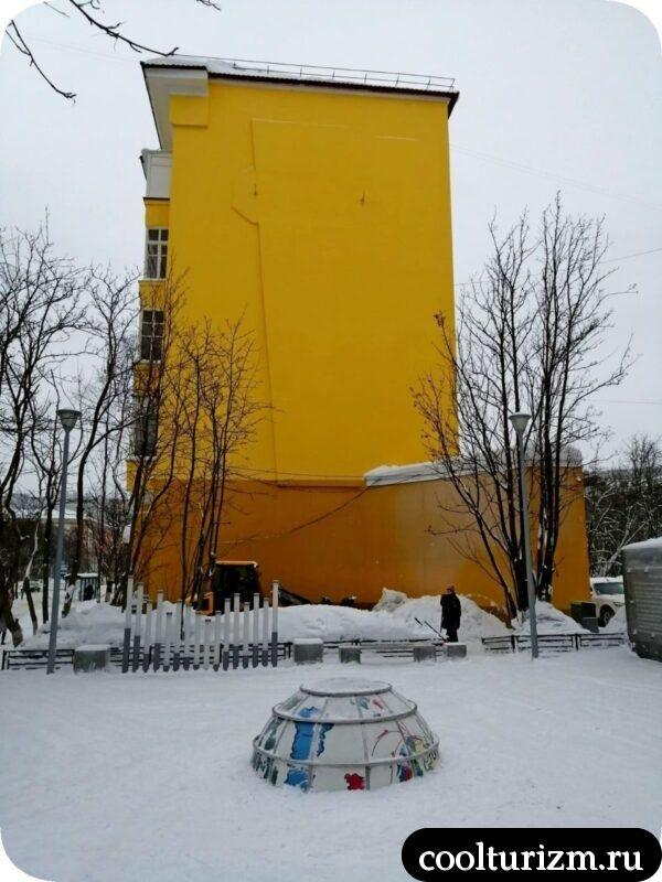 Студенческий сквер Мурманск