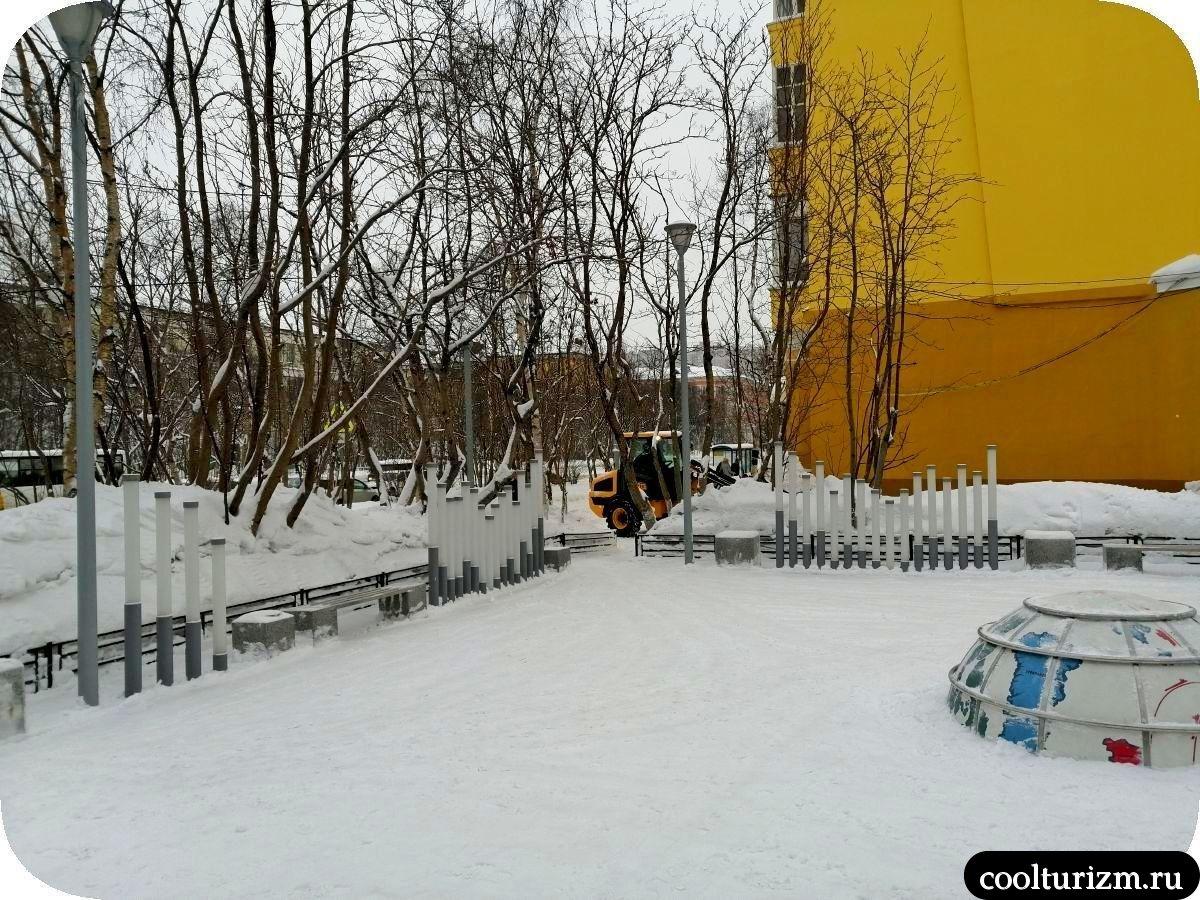 сквер покорители арктики