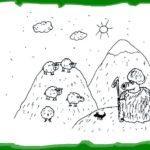 Свинни начал считать овец
