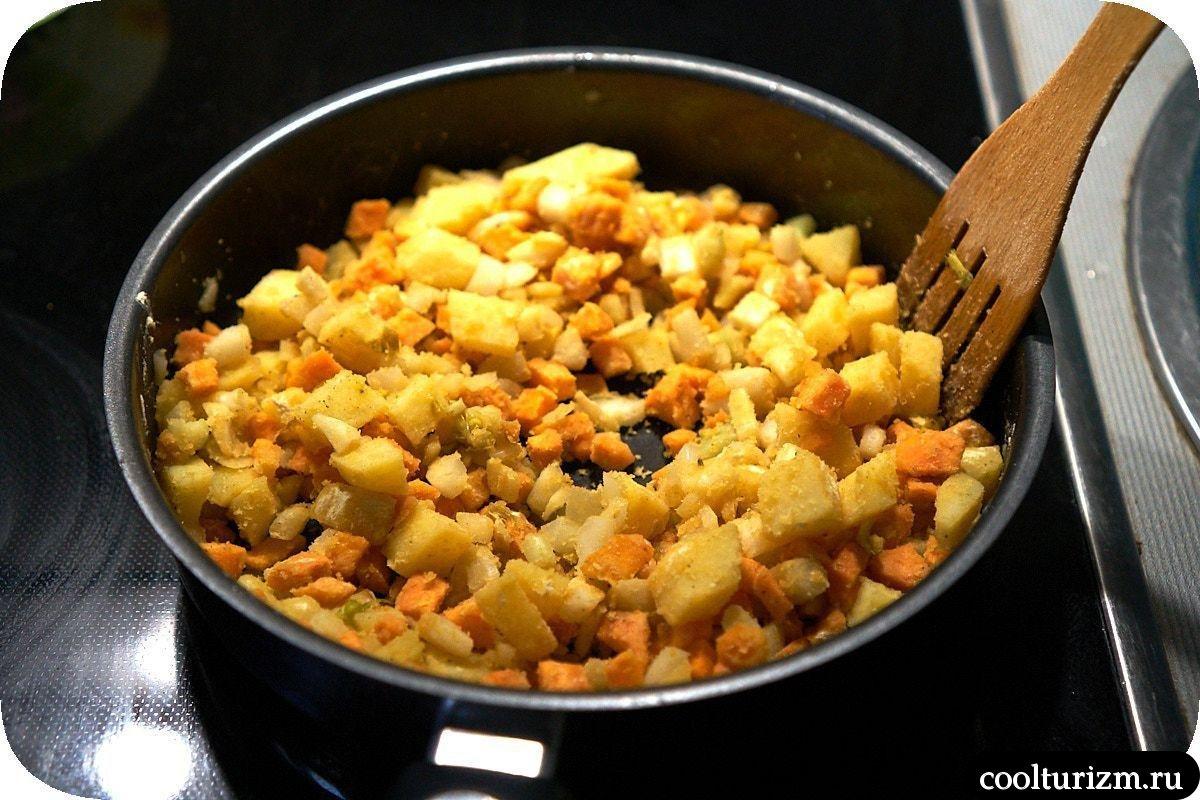 суп из сардины консервированной