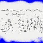 Тилозавр наносит визит Ктулху