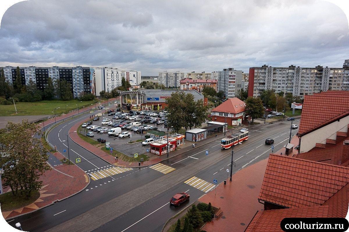 Башня Маяк Калининград Рыбная деревня смотровая площадка