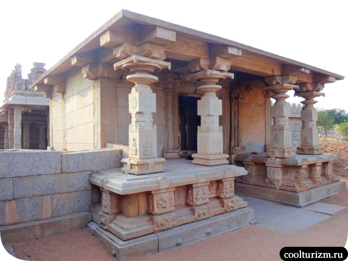 Храм Хазарарама Хампи