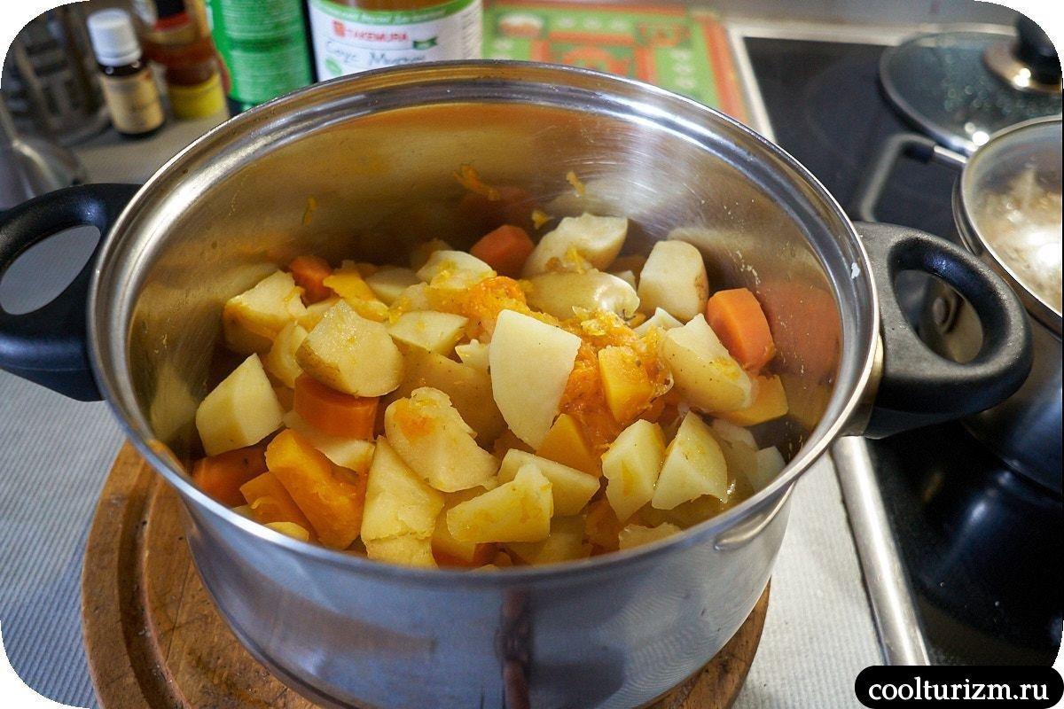 как приготовить овощное пюре дома