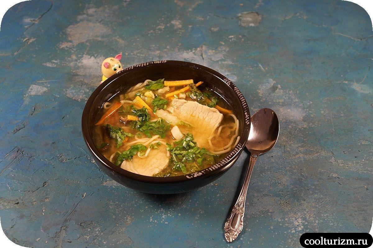 как приготовить суп рамен домашний