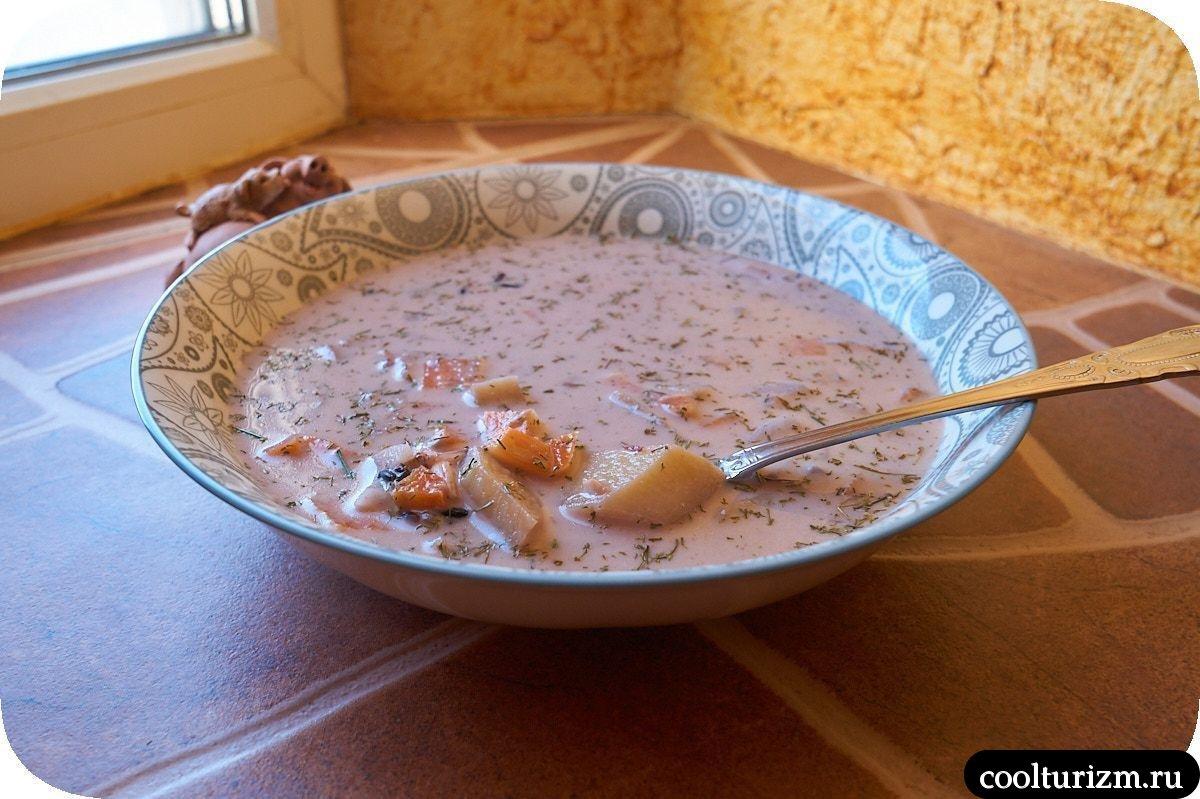 рецепт вкусного супа из камбалы с черным рисом