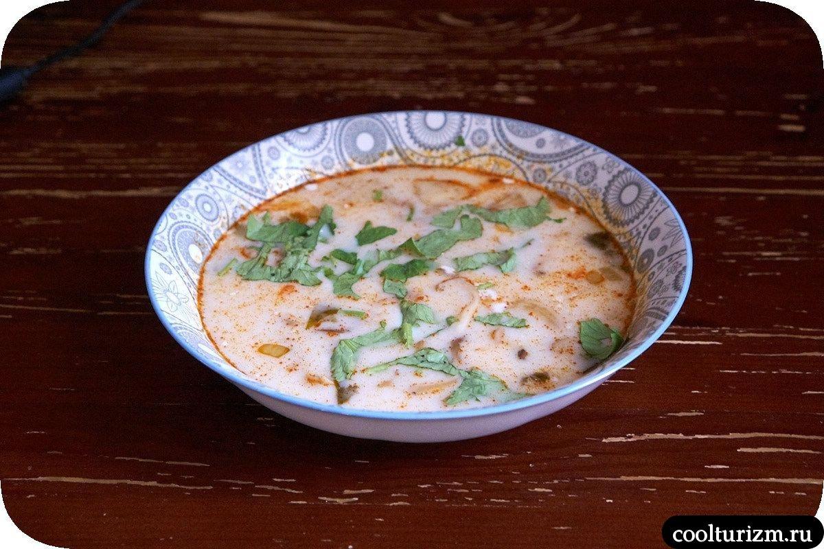 как приготовить дома тайский суп том ям