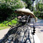 Памятник треске в Мурманске