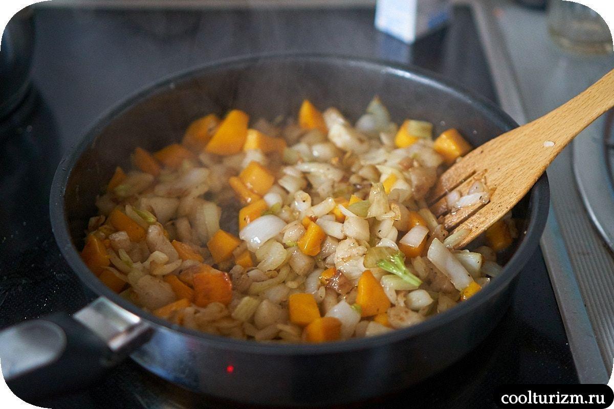как приготовить щечки трески с черным рисом