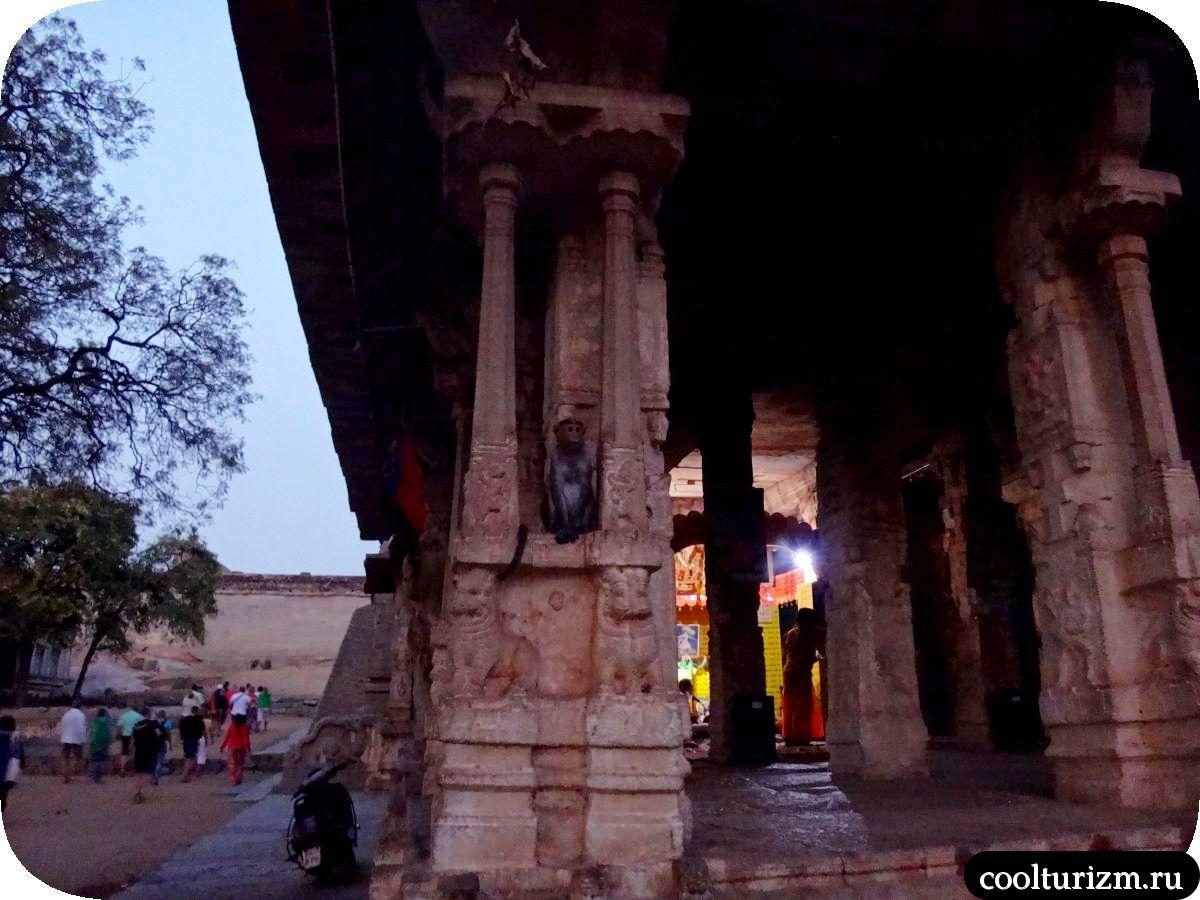 храм Рамы Хампи холм Малиаванта