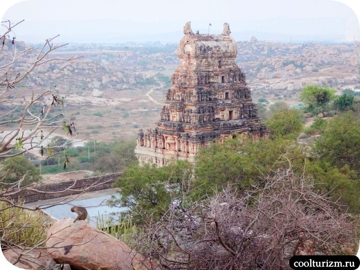 гопура храм Рагхунатха Хампи Индия
