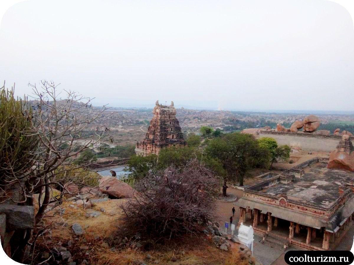храмовый комплекс Рагхунатху Хампи Индия