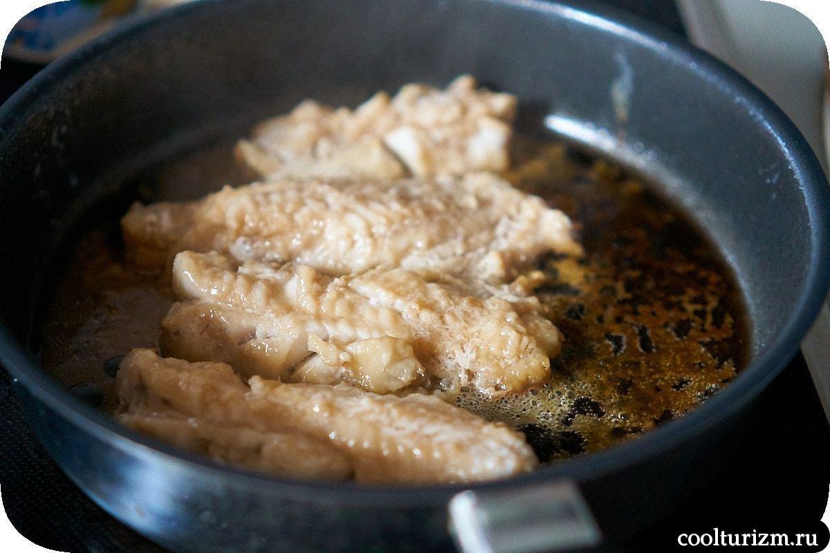 картофельное пюре с морским окунем пошаговый рецепт