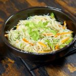Салат из фунчозы с овощами