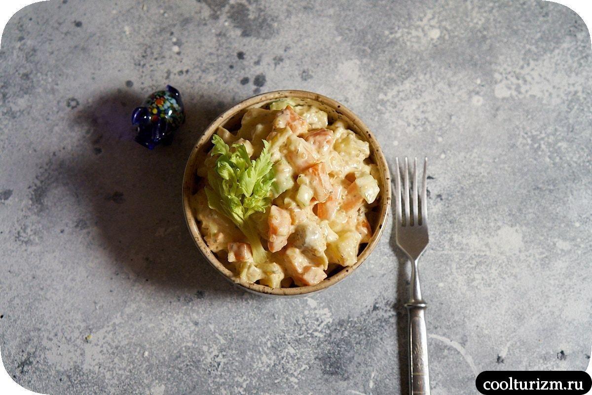 салат из скумбрии и картофеля рецепт с фото