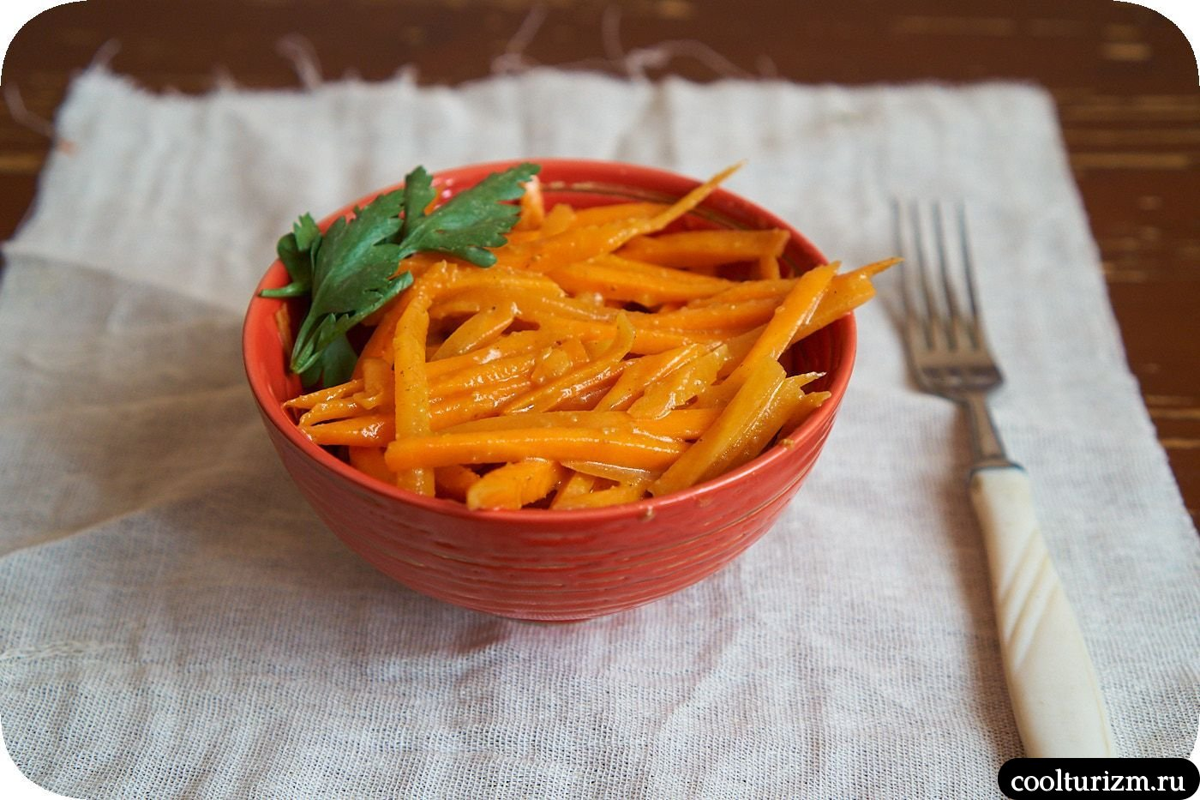 как приготовить корейскую морковь