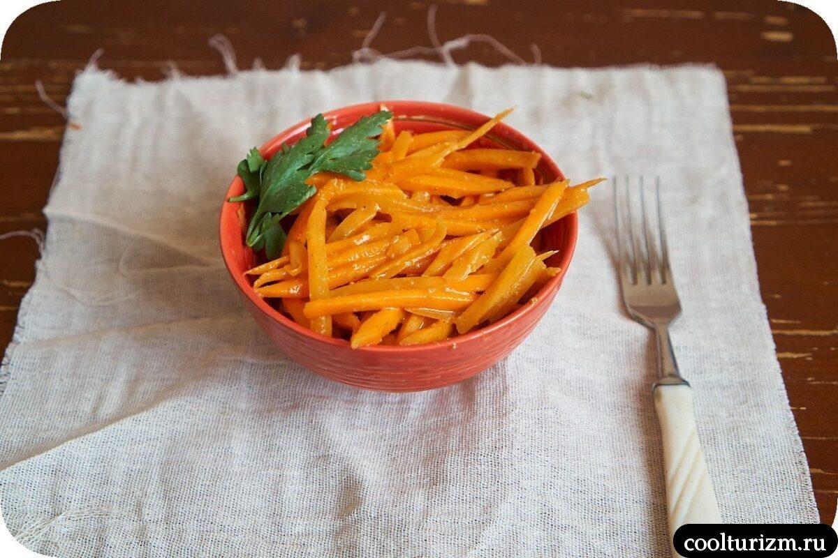 как самому приготовить корейскую морковь