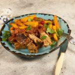 Вкусные бараньи ребрышки на сковороде