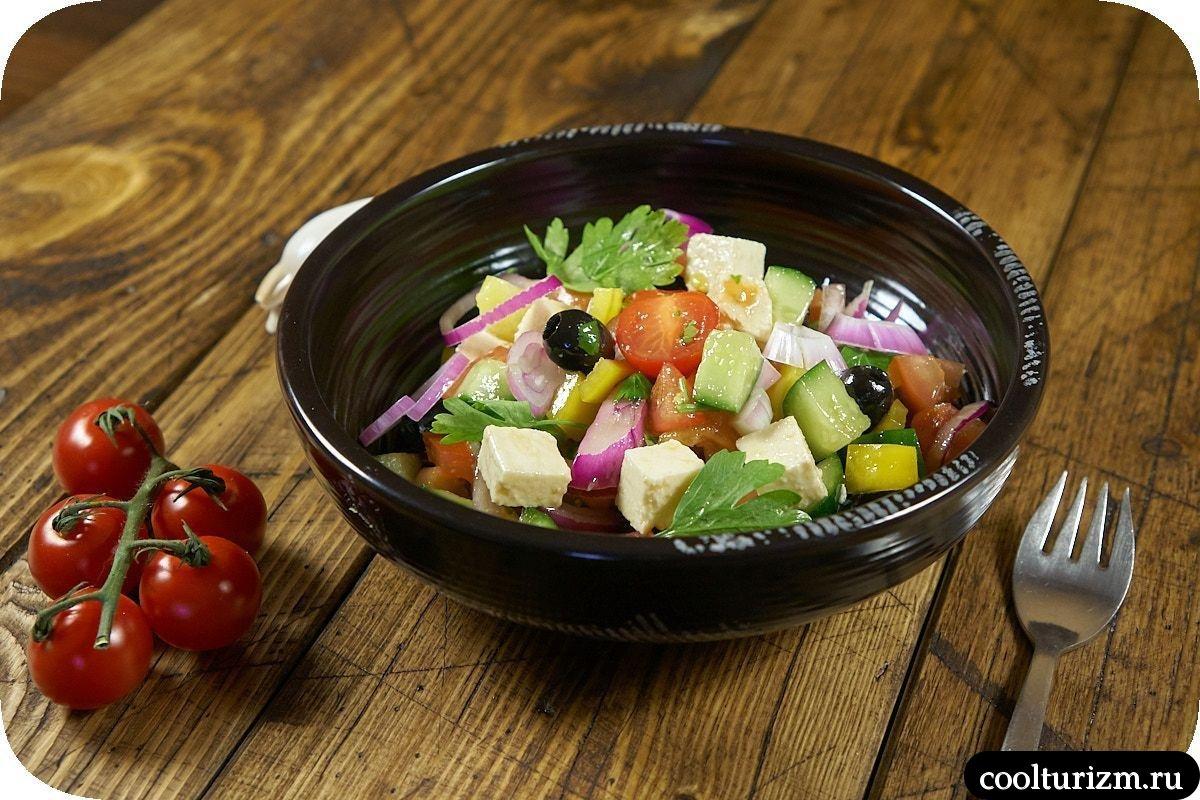 как готовить греческий салат