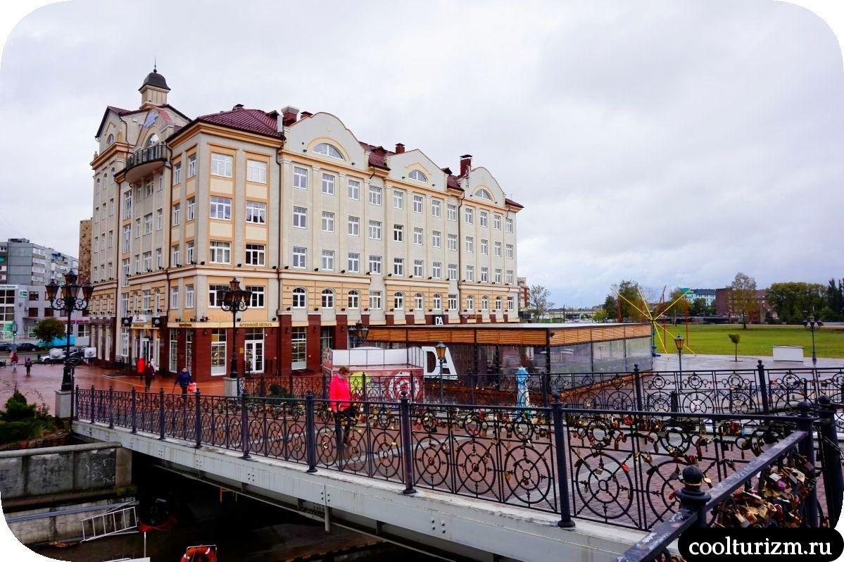 Юбилейный мост на Октярбьской Калининград