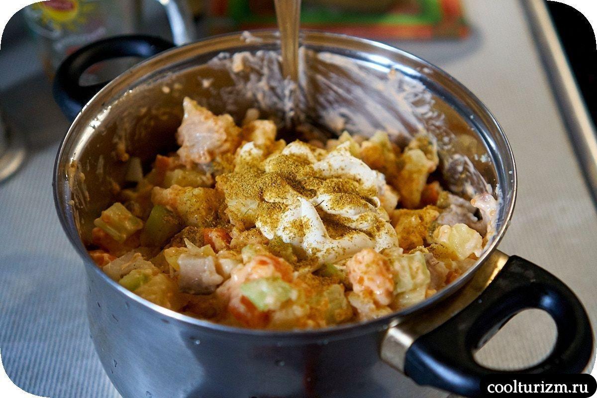 салат из скумбрии и картофеля пошаговый рецепт