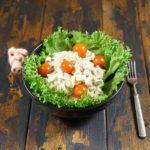 Очень необычный салат со спаржей