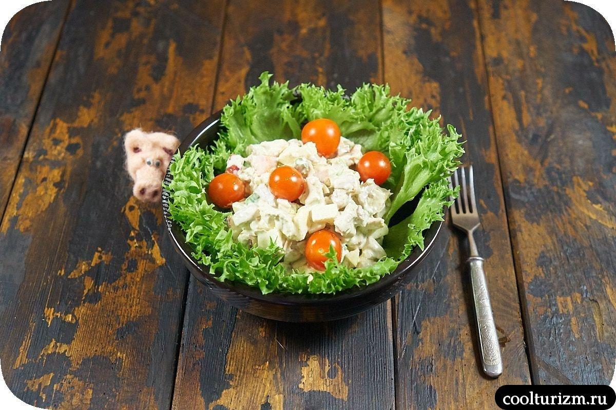 очень необычный салат со спаржей на день рождения