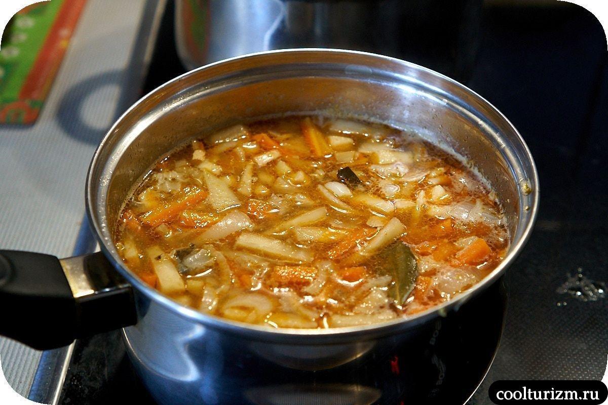 рыбный суп с лапшой удон рецепт