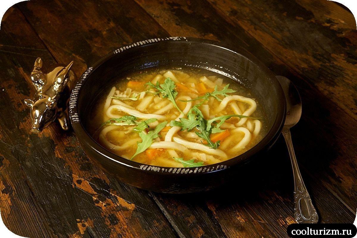 рыбный суп с лапшой удон рецепт в домашних условиях
