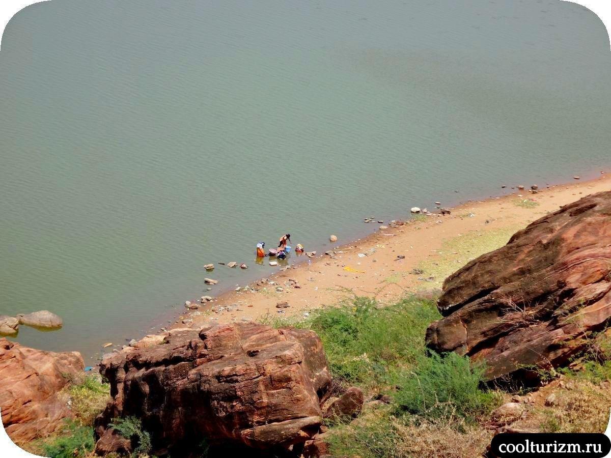 Бадами озеро Агастья виды