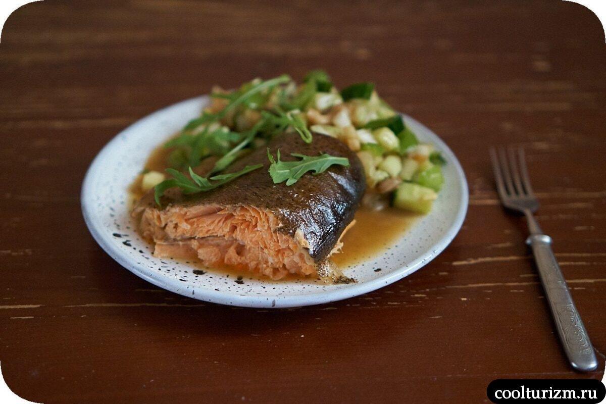 рецепт приготовления вкусной форели в духовке
