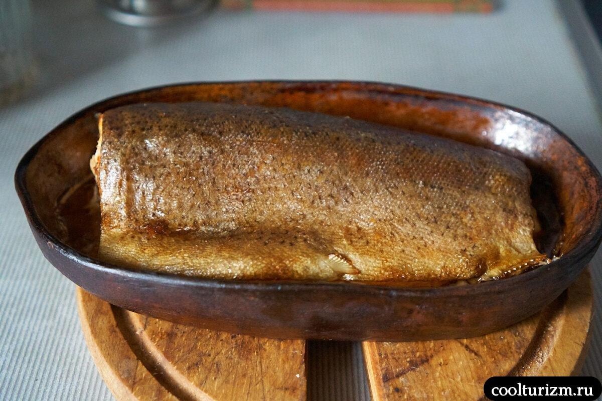 рецепт приготовления форели в духовке фото