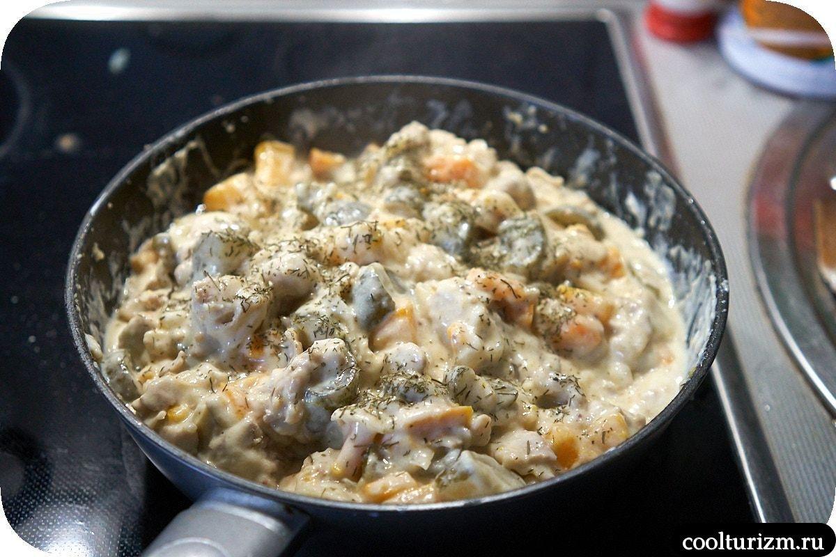 курземес блюда из мяса и огурцов рецепты