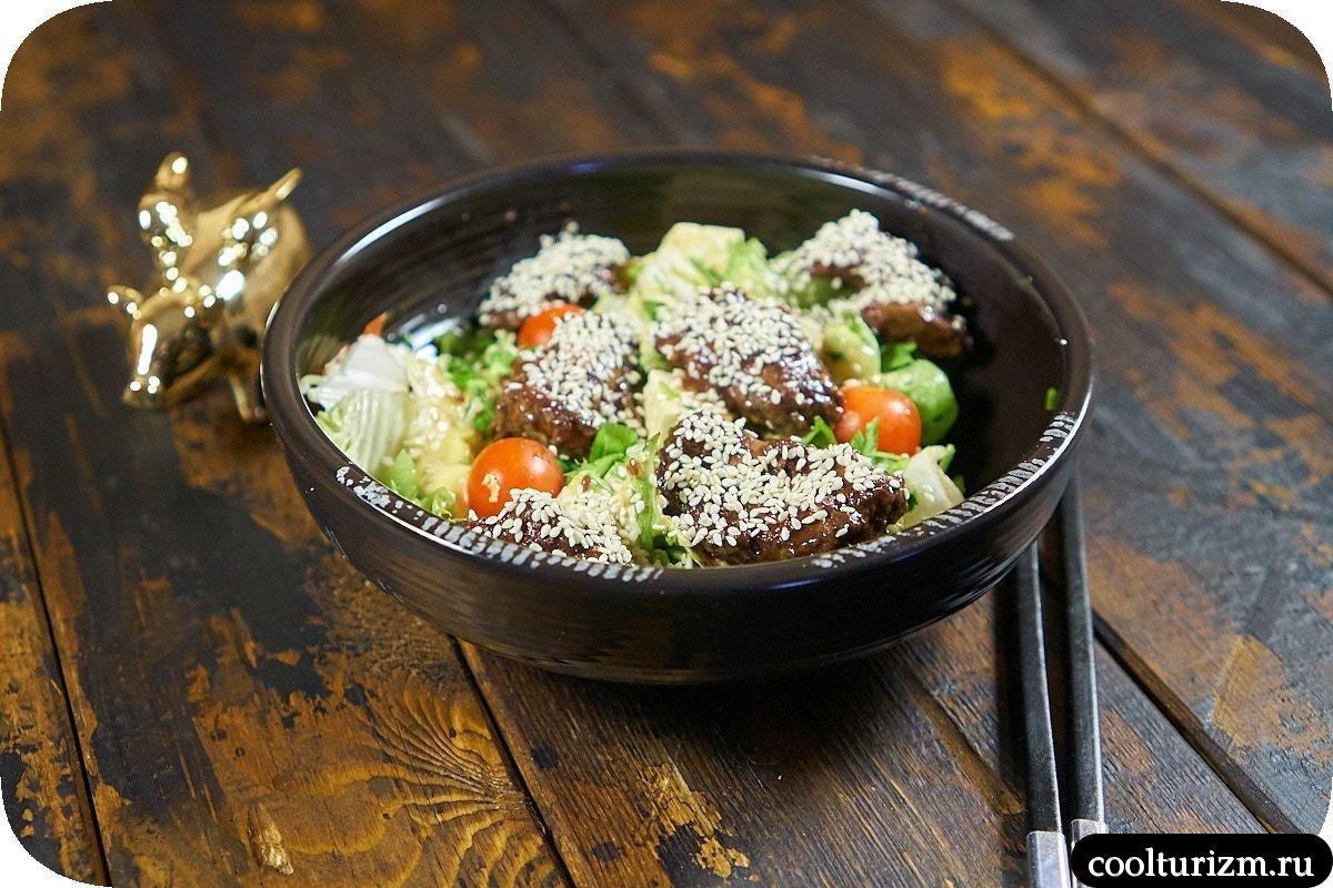 простой и вкусный салат с куриной печенью как готовить