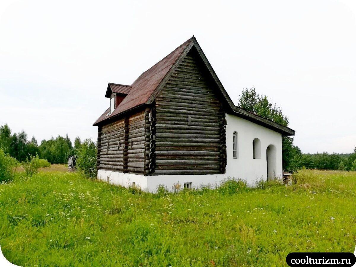 Церковь Владимира Равноапостольного в Стуколово Псковская область