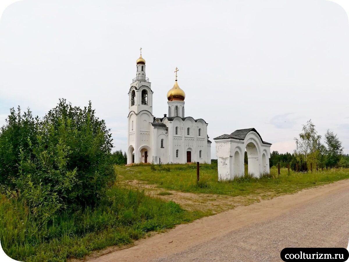 Церковь в Стуколово Псковская область