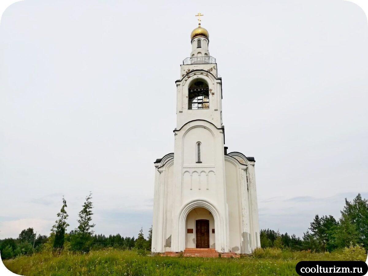 Церковь Владимирская в Стуколово Псковская область