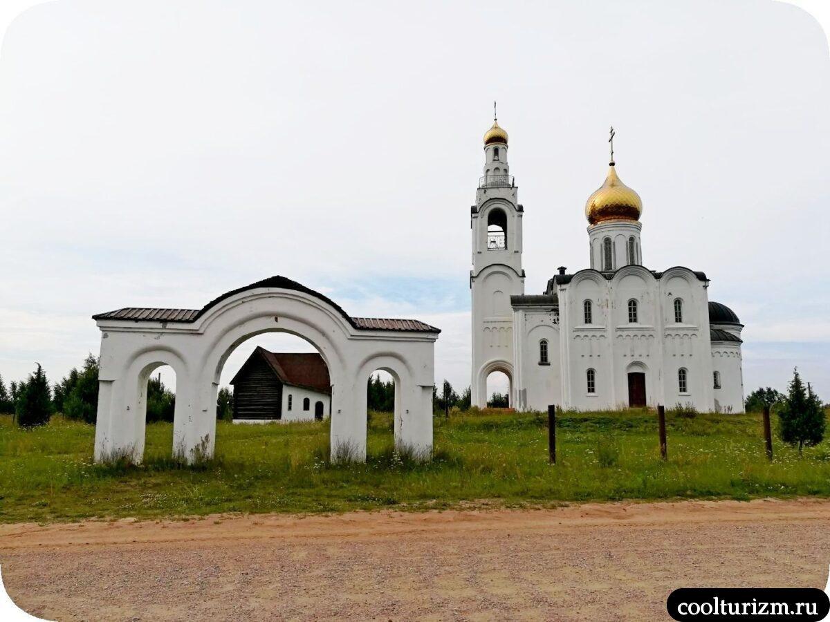 Церковь Владимира Равноапостольного в Стуколово Псковская область фото история