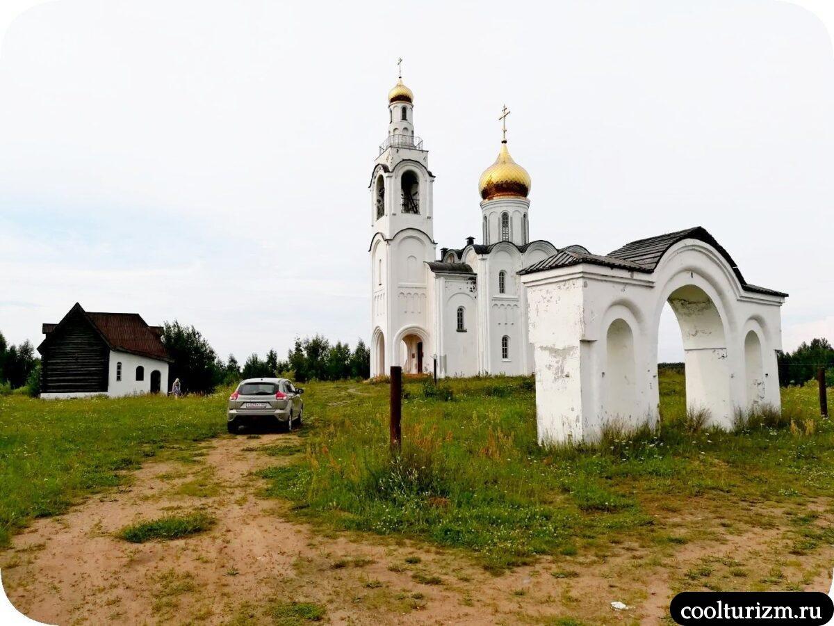 Церковь Владимира Равноапостольного в Стуколово Псковская область Невельский район