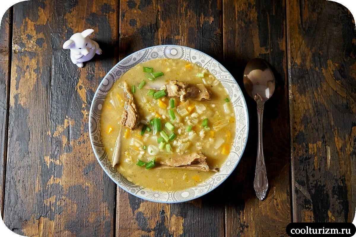 суп с бараньими ребрышками и перловкой простой вкусный рецепт