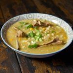Суп с бараньими ребрышками и перловкой
