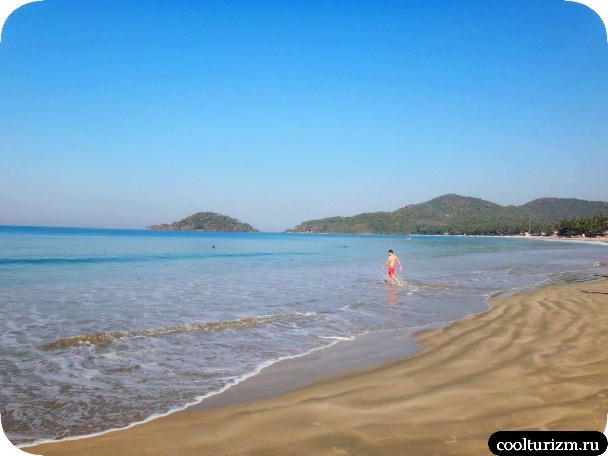 пляж Палолем Южный Гоа