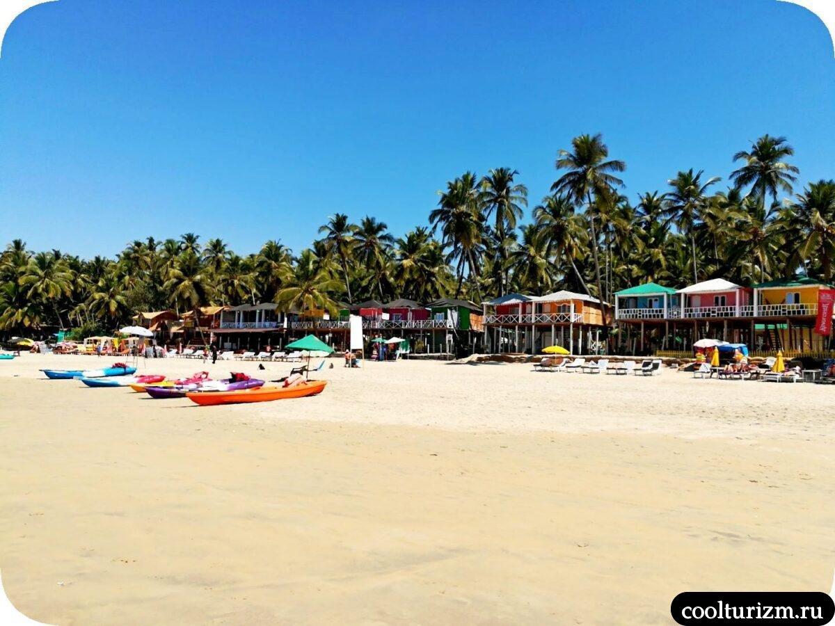 экскурсия по лучшим пляжам Южного Гоа красоты Палолема